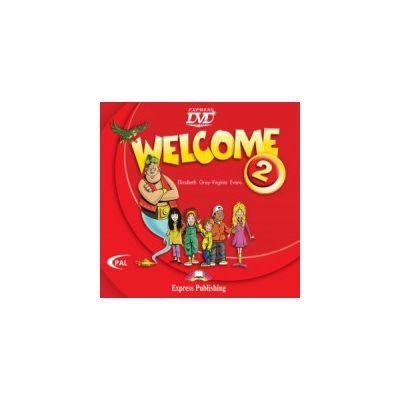 Welcome 2, DVD, Curs de limba engleza - Elizabeth Gray