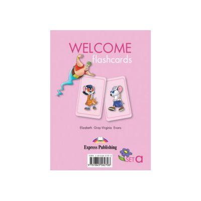 Welcome Starter A, Picture Flashcards, Curs de limba engleza - Elizabeth Gray