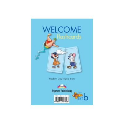 Welcome Starter B, Picture Flashcards, Curs de limba engleza pentru clasa II-a