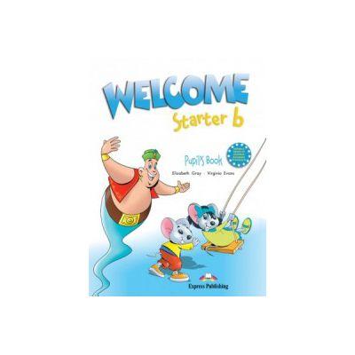 Welcome starter B, Student Book, Curs de limba engleza - Elizabeth Gray