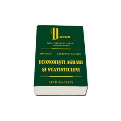 Economisti agrari si statisticieni - Ion Bold