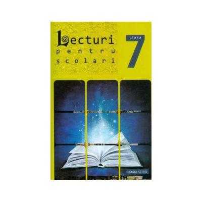 Lecturi pentru scolari clasa VII-a