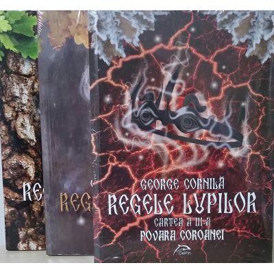 Set complet trilogia Regele lupilor, in editie limitata!