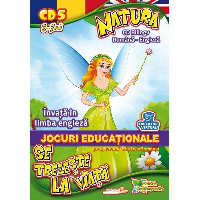 Natura se trezeste la viata - Invata in limba engleza - Jocuri educationale 3-7 ani