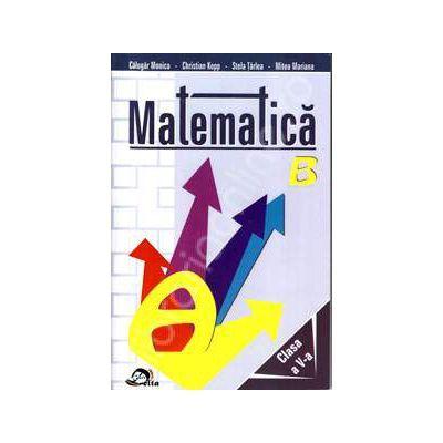 Matematica clasa a V-a. Culegere - Monica Calugar