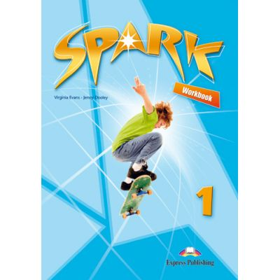 SPARK 1 Work Book, Curs de limba engleza - Virginia Evans