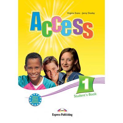 Access 1 Student's Book. Curs de limba engleza - Virginia Evans