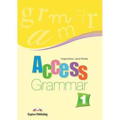 Access 1 Grammar. Caiet de exercitii de gramatica nivel A1 - Virginia Evans