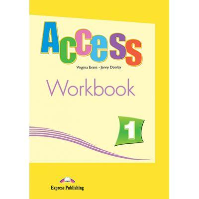 Access 1 Workbook. Caietul elevului pentru cursul de engleza cu Digibook App - Virginia Evans