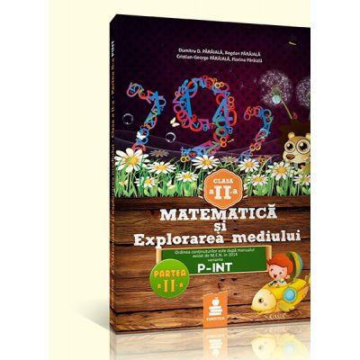 Matematica si explorarea mediului - auxiliar clasa a II-a Sem. II (varianta C, P-INT 2015) - Florin Paraiala