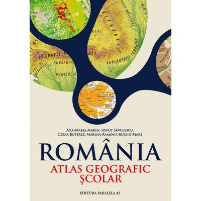 ROMANIA. ATLAS GEOGRAFIC SCOLAR (Ana-Maria Marin)