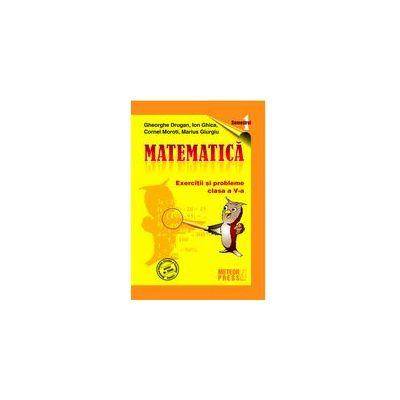 MATEMATICA - clasa a V-a, semestrul I 2009-2010