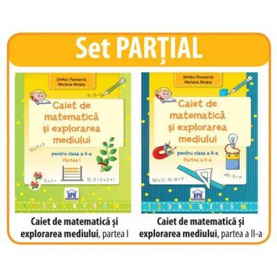 SET Partial. Auxiliare clasa a II-a. Matematica si explorarea mediului I, II
