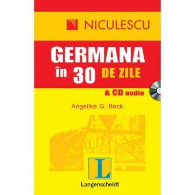 Germana in 30 de zile & CD audio (Angelika G. Beck)