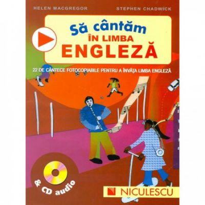 Sa cantam in limba engleza & CD audio - Helena McGregor