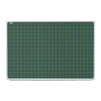 Tabla scolara magnetica verde cu patratele ( suport creta si carioca ) TSMVPLMAT170