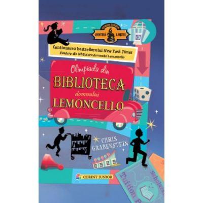 Olimpiada din Biblioteca Domnului Lemoncello. Seria Lemoncello, volumul 2 - Chris Grabenstein