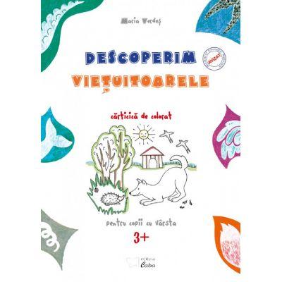 Descoperim vietuitoarele, carte de colorat pentru 3 ani (plus), Maria Verdes