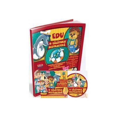 O calatorie distractiva de Ioan Salomie - pachet educational cu CD pentru clasa pregatitoare