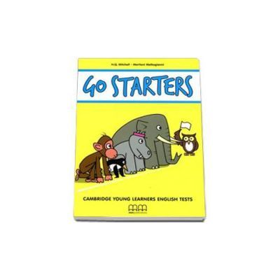 Go Starters-Cambridge Young Learners English Tests by H. Q Mitchell-Students Book with 2CDs