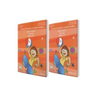 Jojo Methode de francais 3. 1 Manual de Comunicare in limba moderna 1, Limba Franceza clasa a III-a, partea I + partea a II-a. Ccontine editia digitala - M. A. Apicella