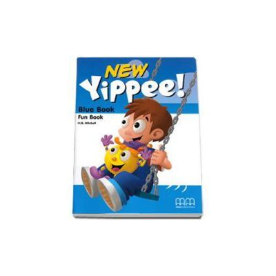 New Yippee! Blue Book Fun Book with CD-Rom by H. Q. Mitchell