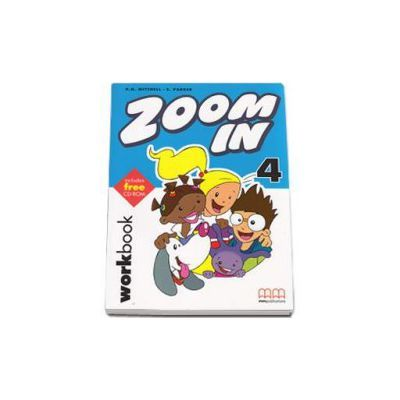 Zoom In by H. Q. Mitchell- Workbook with CD-Rom - level 4