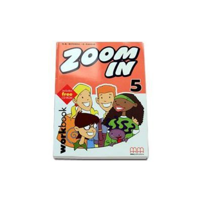Zoom In Workbook with CD-Rom by H. Q. Mitchell - level 5