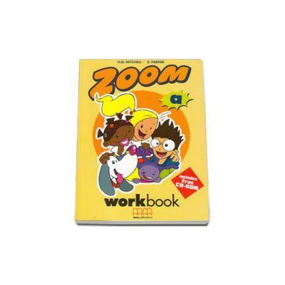 Zoom by H. Q. Mitchell - Workbook with Stickers and CD - level A