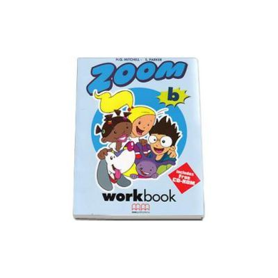 Zoom by H. Q. Mitchell - level B Workbook with Stickers and CD-Rom