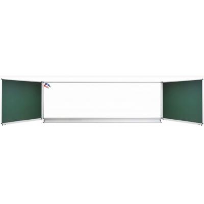 Tabla scolara triptica combinata 2400X1200/4800 ( metalo-ceramica ) TSTVAVP480