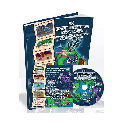Un extraterestru in vacanta - pachet educational cu CD pentru evaluare clasa a III a