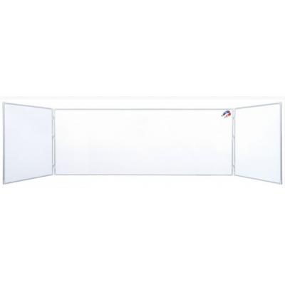 Tabla scolara alba/whiteboard 2400x1200mm/4800 ( suprafata metalo-ceramica magnetica ) TSTAP480