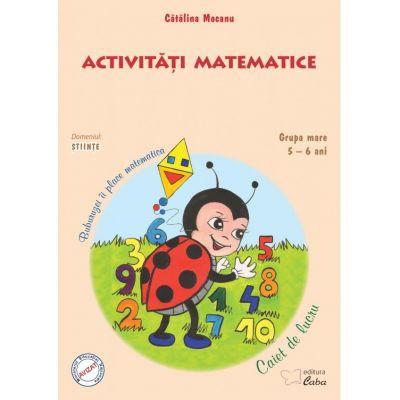 Activitati matematice – caiet de lucru pentru 5-6 ani