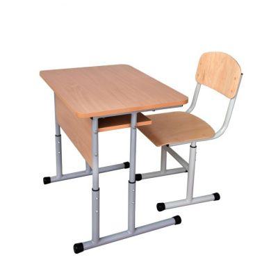 Set mobilier scolar individual cu inaltimea reglabila a bancii si a scaunului ( MBSIR )