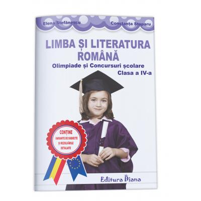 LIMBA SI LITERATURA ROMANA - olimpiade si concursuri scolare - clasa a IV-a