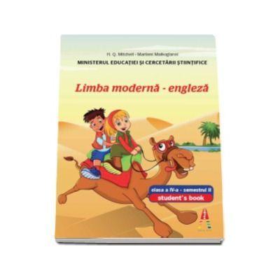 Manual pentru Limba moderna engleza clasa a IV-a, semestrul II. Students Book With CD - H. Q. Mitchell