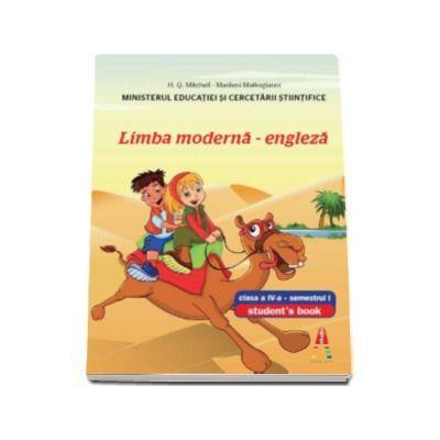Manual pentru Limba moderna engleza clasa a IV-a, semestrul I. Students Book with CD - H. Q. Mitchell
