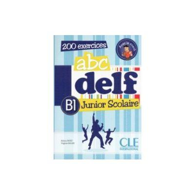 ABC Delf B1 Junior scolaire – Livre+CD audio
