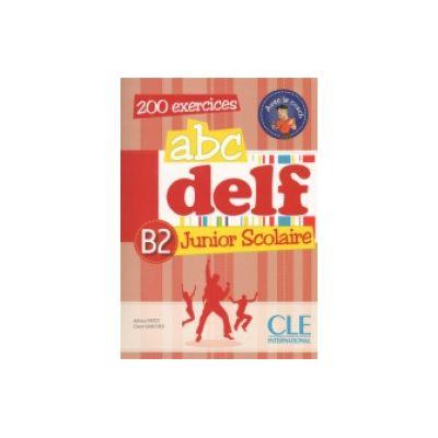 ABC Delf B2 Junior scolaire – Livre+CD audio