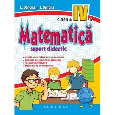 Matematica pentru clasa a IV-a, suport didactic