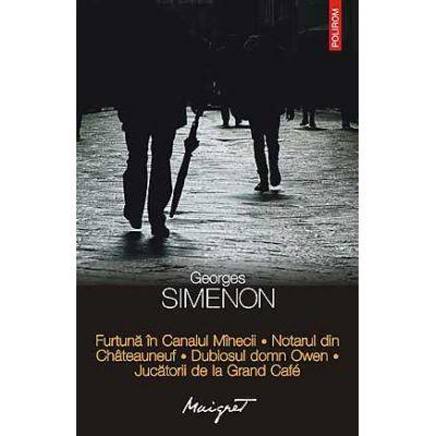 Furtuna in Canalul Minecii - Georges Simenon