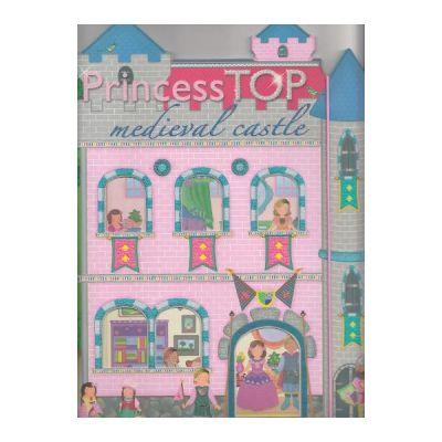 Princess Top - Medieval Castle (bleu)