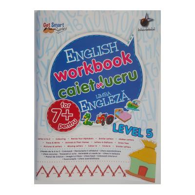 English workbook Level 5 - caiet de lucru pentru limba engleza