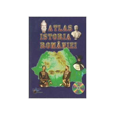 Atlas Istoria Romaniei + CD