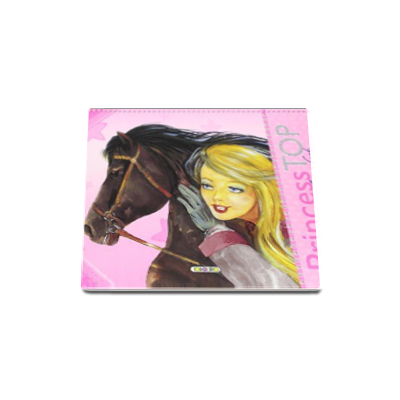 Horses coloring book - Princess TOP