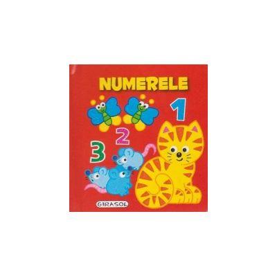 Numerele - Pliant Pop-Up (cartonat)
