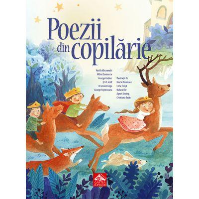 Poezii din copilarie - Antologie ilustrata de poezii clasice pentru copii