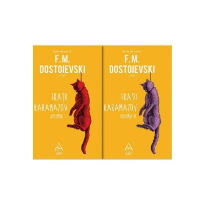 Frații Karamazov - două volume F. M. Dostoievski - Art