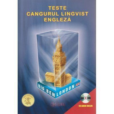Teste Cangurul Lingvist pentru limba Engleza (CD audio inclus)